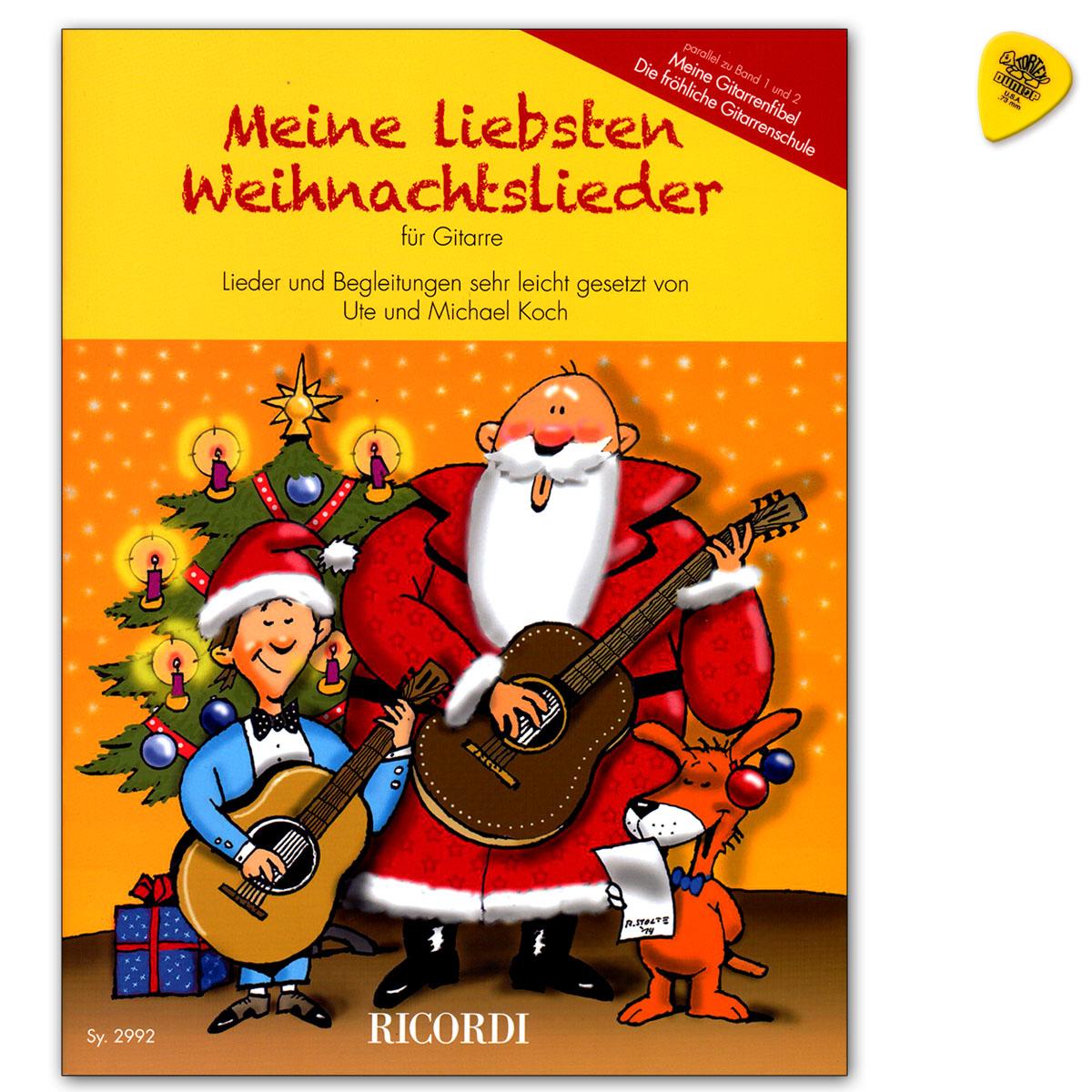 Meine Liebsten Weihnachtslieder für Gitarre - Ricordi - SY2992 ...